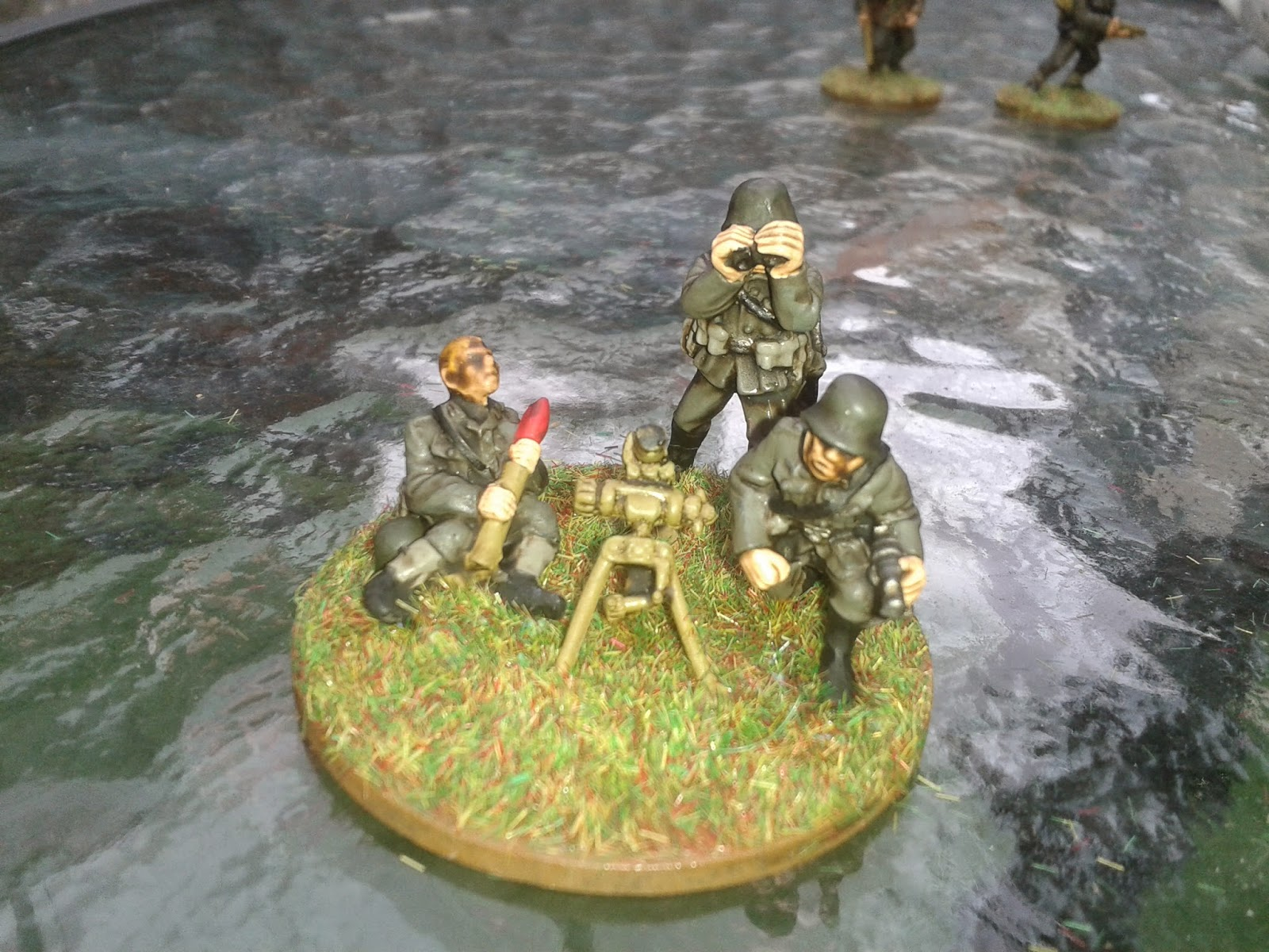 the garage gamers marts bolt action german medium mortar
