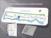 Peta Wilayah Desa Siaga Pangauban  Kec.Batujajar