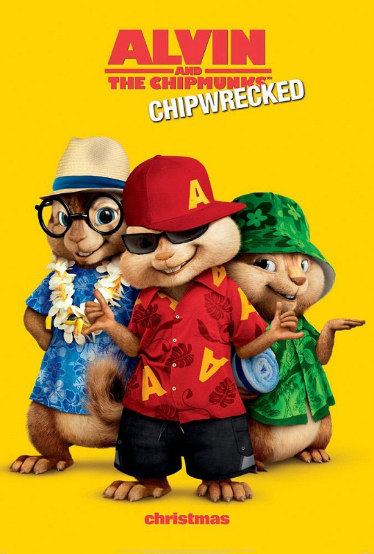 Alvin and the Chipmunks: Chip-Wrecked 3D (2011)
