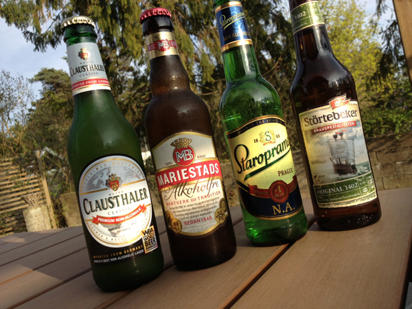 dricka alkoholfri öl gravid