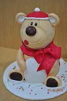 3D Bear cake class