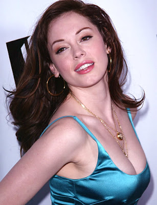 Hollywood Actress Rose McGowan
