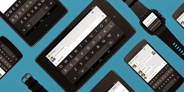 Android'in Fleksy Klavyesi iOS'ta