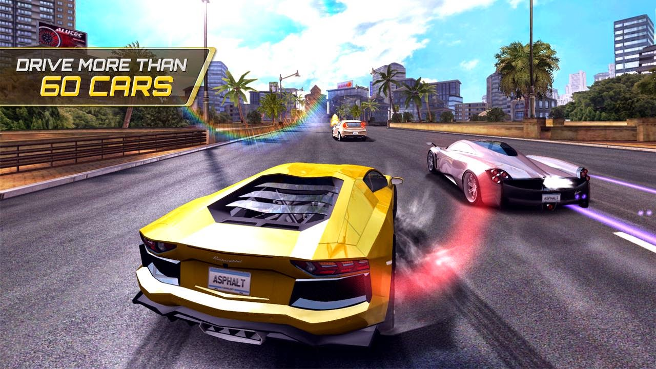 Game Balap mobil dengan Supercar di Asphalt Heat 7 - Free Download Apk
