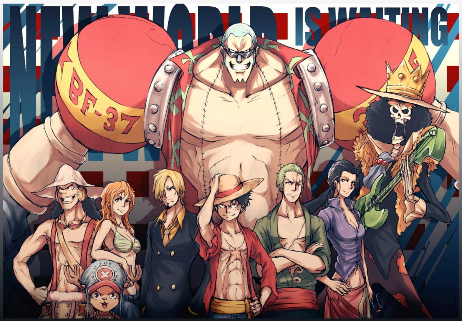 One Piece HD & Widescreen Wallpaper 0.833459707315118