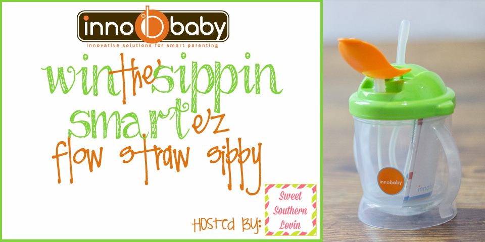 Innobaby Sippin SMART™ Ez Flow Straw Sippy Giveaway