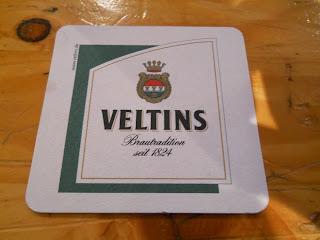 colección de posavasos de marcas de cerveza Veltins