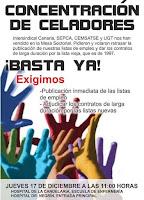 concentraciones celadores Canarias 17 diciembre