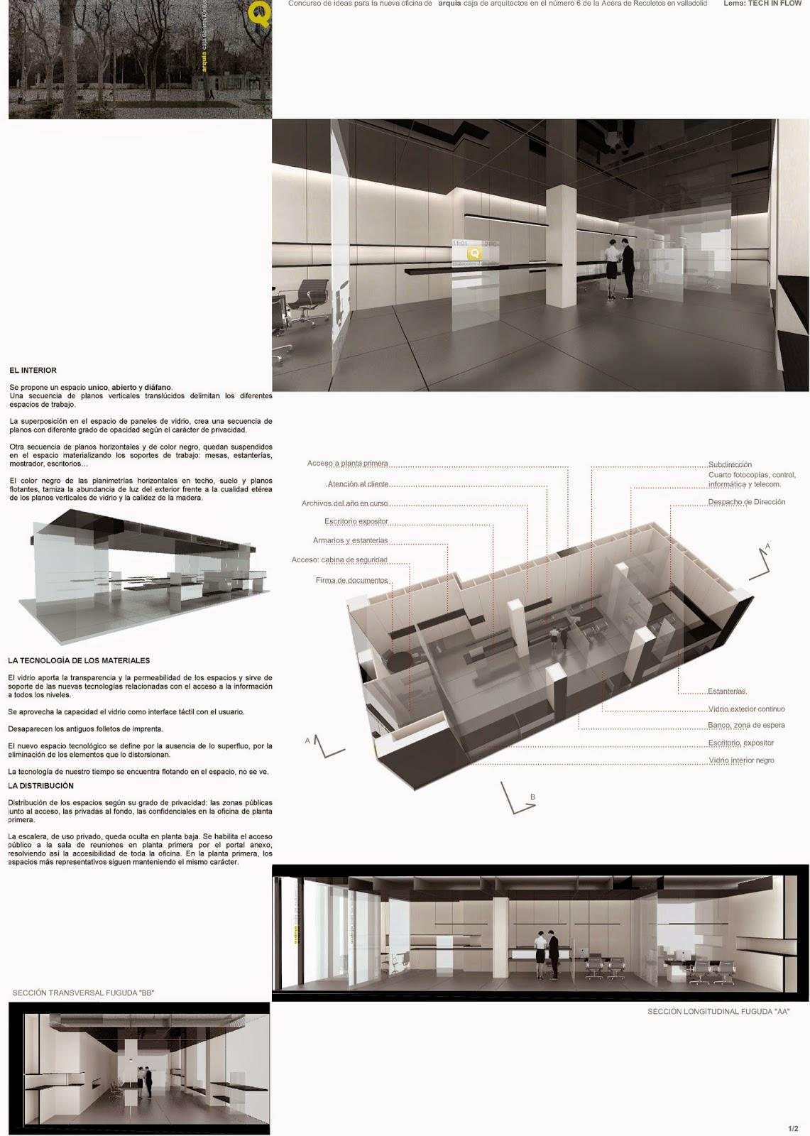 Vz arquitectos enrique villar pagola rodrigo zaparain concurso de ideas para la nueva oficina - Arquitectos en valladolid ...