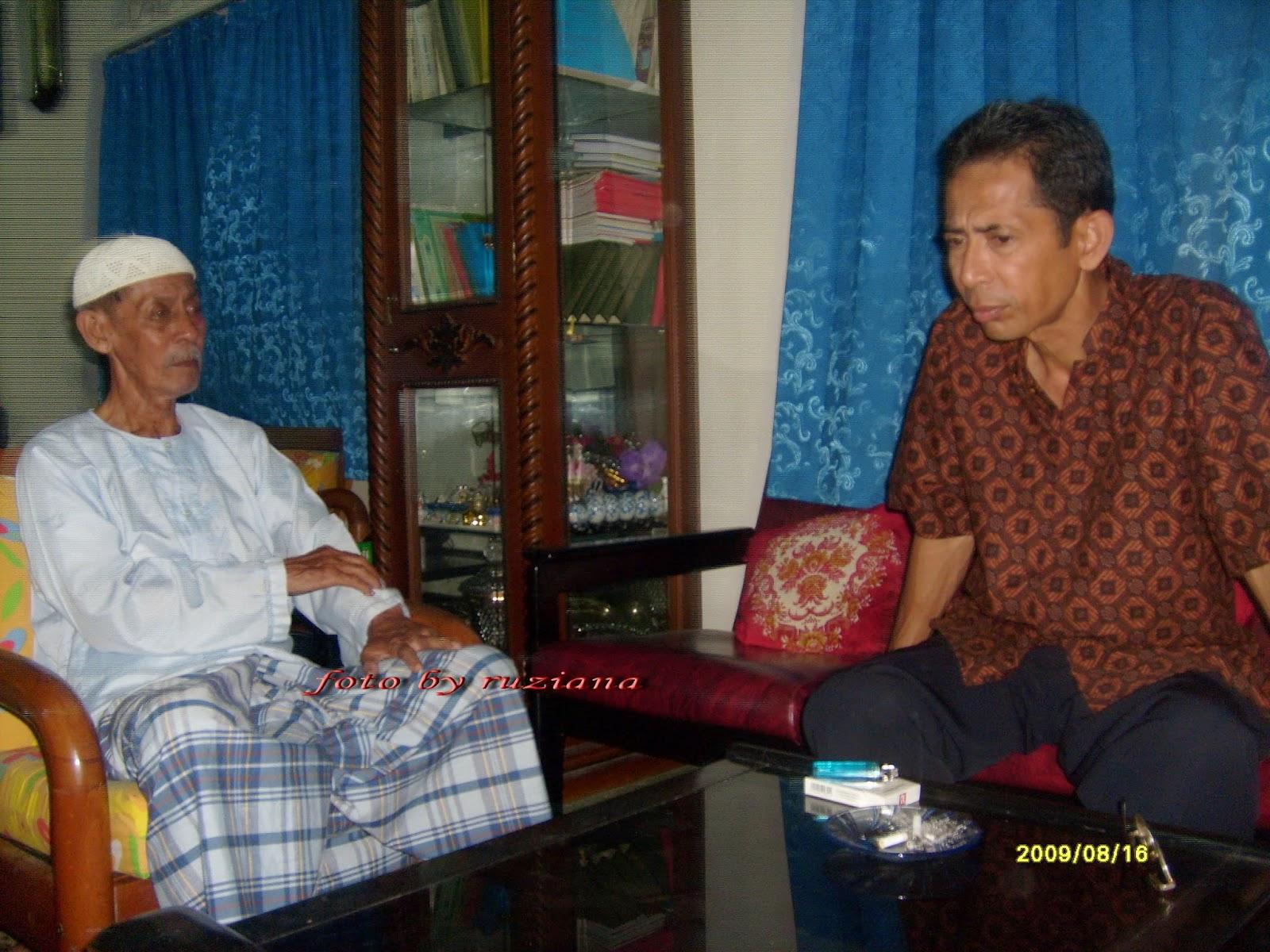 saksi sejarah KAA dari Kepri, pesawat KAA jatuh di natuna, KAA Bandung 2015, Said Hamzah, Ruziana, Penulis wanita kepri, Tanjungpinang