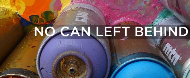 collective of artists devoted to removing discarded spray paint cans. Black Bedroom Furniture Sets. Home Design Ideas