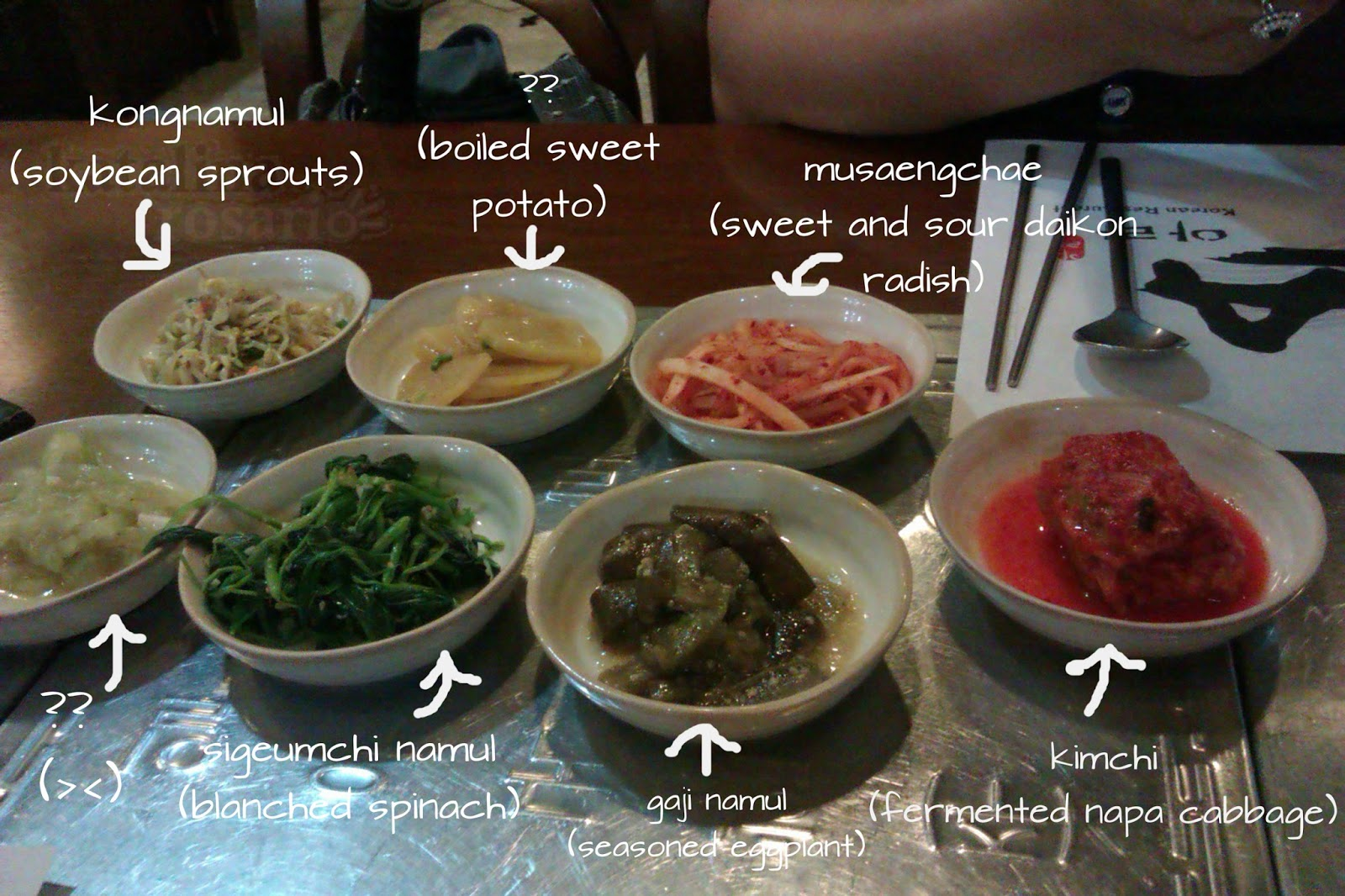 Food trips ara korean restaurant a taste of korean for About korean cuisine