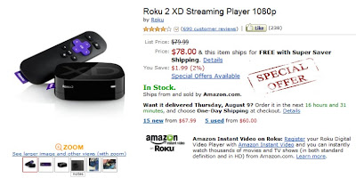 Roku 2 XD Best Price