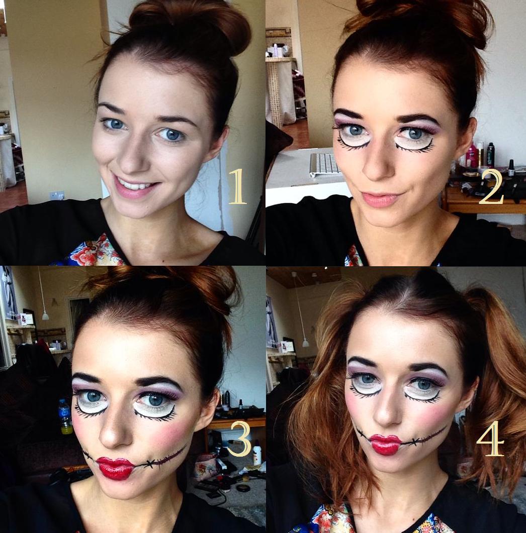 Halloween Doll Makeup Eltoria