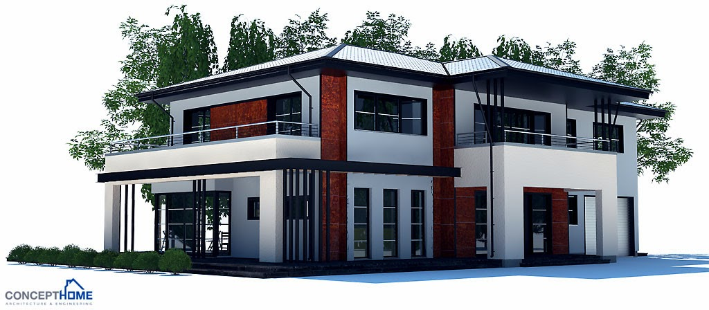 Australian house plans australian house plan ch204 for Modern house designs australia