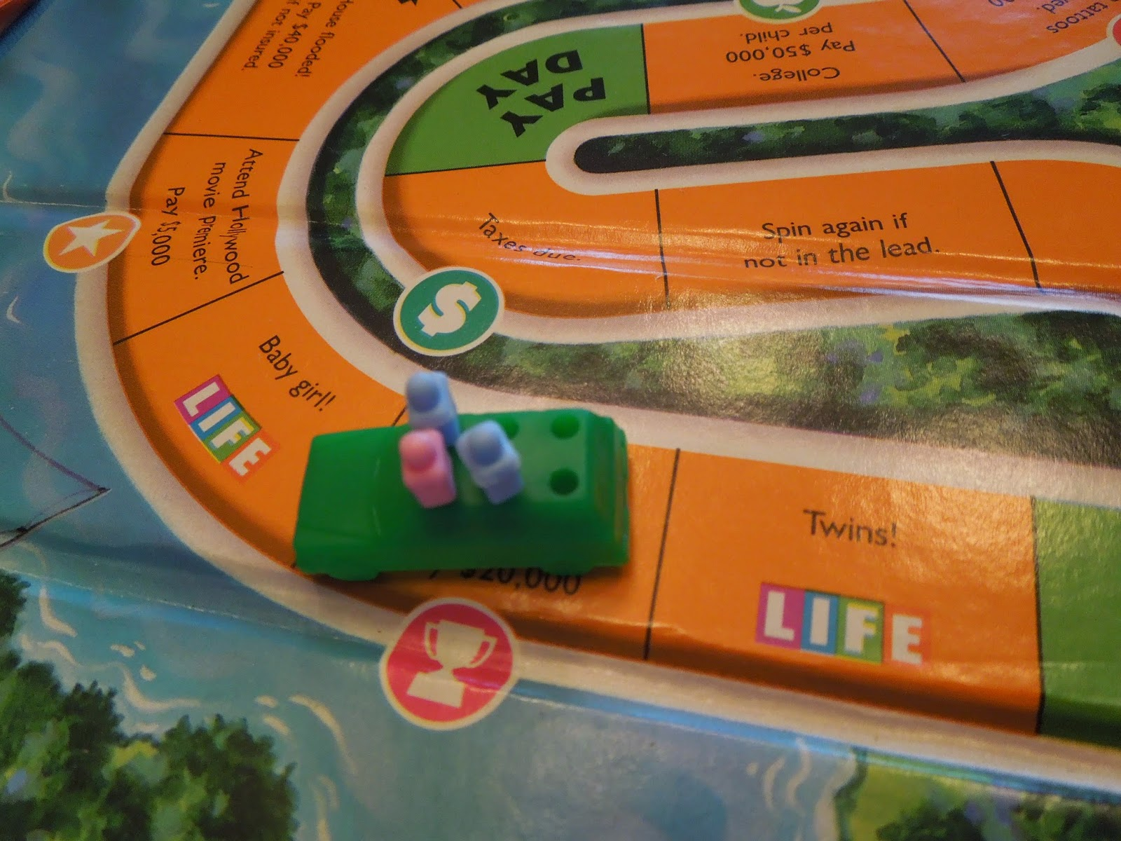 Life Game Board Spaces The Game of Life | A B...