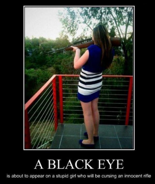 Black Eye - Hot Or Stupid Girl?