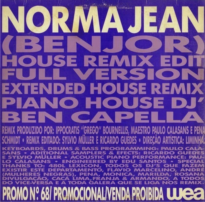 Benjor Norma Jean Remix
