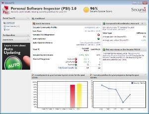 Verificar archivos con, Secunia Personal Software Inspector