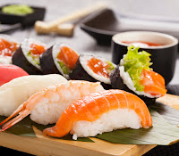 image of sushi delights