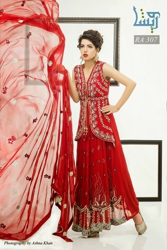 Wareesha By Rasheed Arts Formal Wear 2014