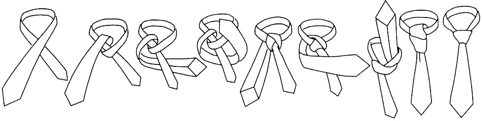 Декоративные элементы костюмов: бабочка, пластрон, галстук