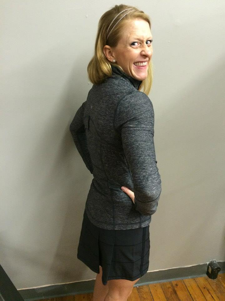 lululemon heathered black define