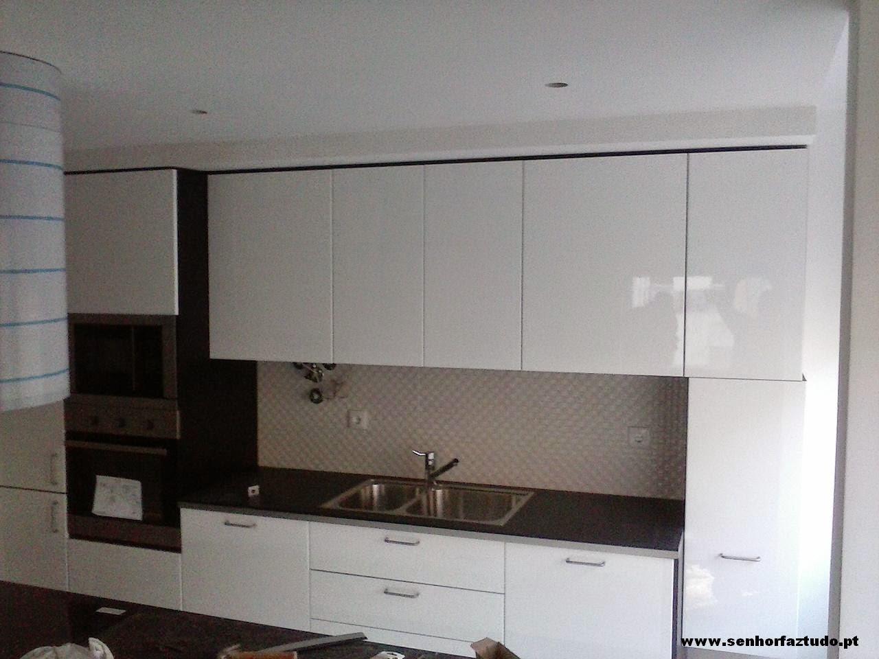 Montagem de cozinhas Ikea : Montagem de uma cozinha Ikea em Benfica #201A16 1280 960
