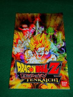 Manuel de jeu Dragon Ball Z Budokai Tenkaichi 1