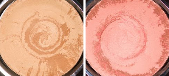 Collection Holiday 2012 de Makeup by Nicole Fae - Satin Glow and Bloom powders