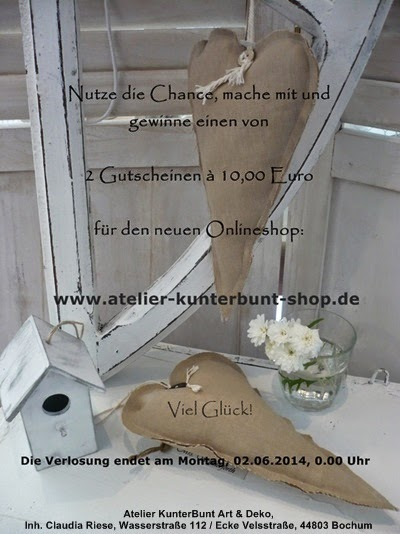 Neuer Onlineshop bei Claudia, unbedingt rein schauen