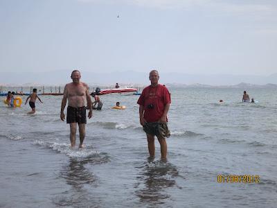 Lac Bosten, le plus grand lac d'eau douce de la Chine