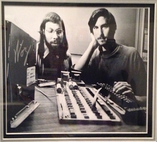 Woz and Steve Jobs