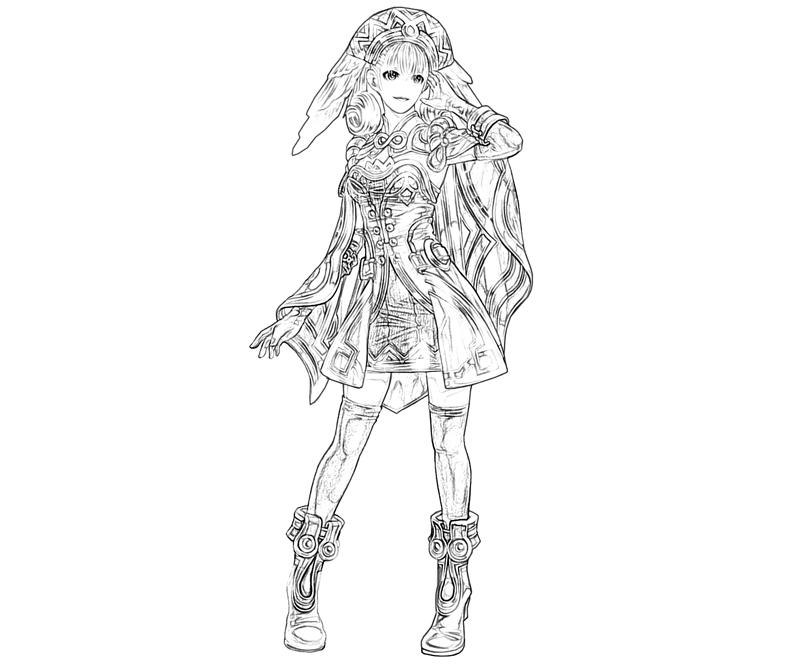 melia-beautiful-coloring-pages
