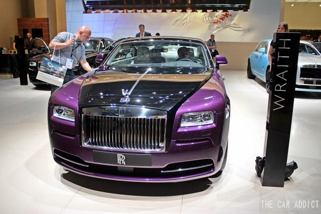 Rolls-Royce Wraith at Frankfurt Motor Show 2013