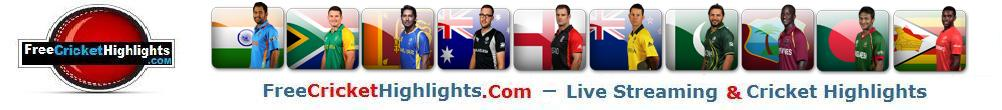 Cricket Highlights, Live cricket Streaming Online | Free Cricket Highlights