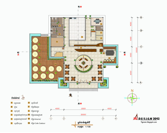 tigerarchtecture design 2d floor plan design