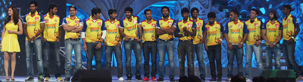 Chennai Rock Stars team - CCL Chennai Rock Stars team 2013