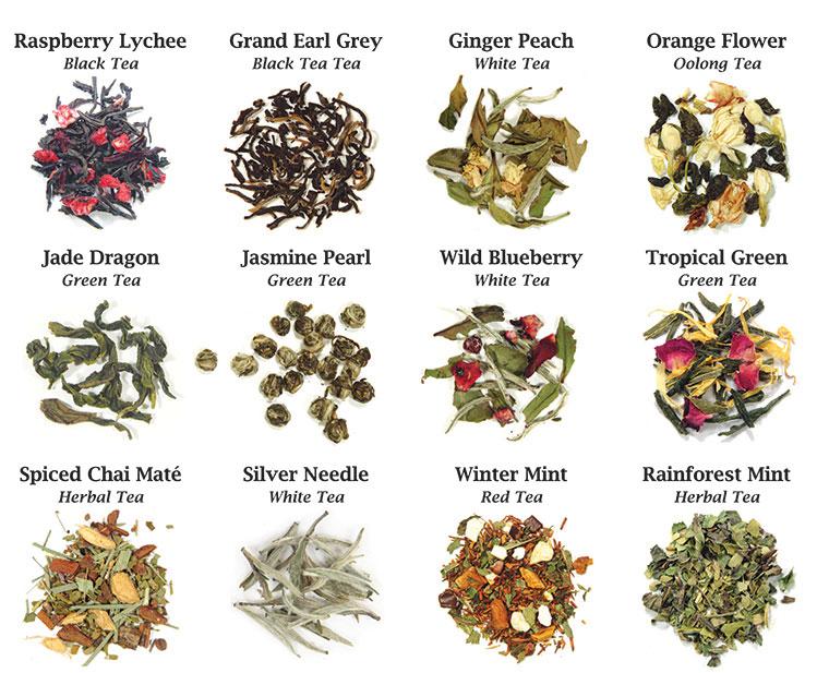 Tipos de té y sus beneficios para la salud  Herbolario La Senda