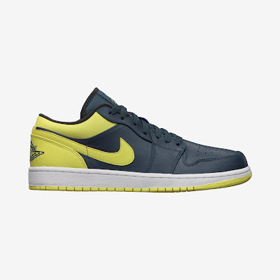 Air Jordan 1 Low Men's Shoe # 553558-417