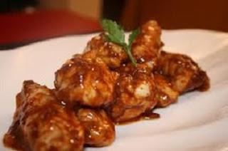 alitas de pollo adobada