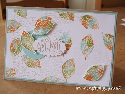 Stampin' Up! babywipe, French Foliage, Perfectly Penned