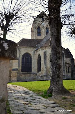 Auvers sur Oise - église