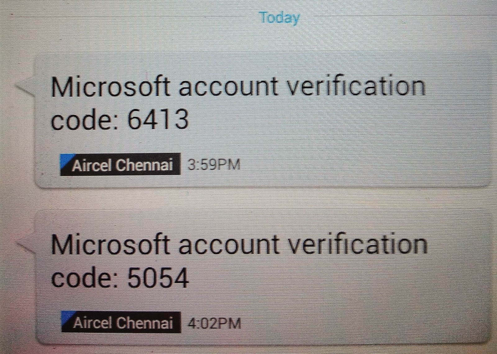 Bulksms2cash verification code in cell phone