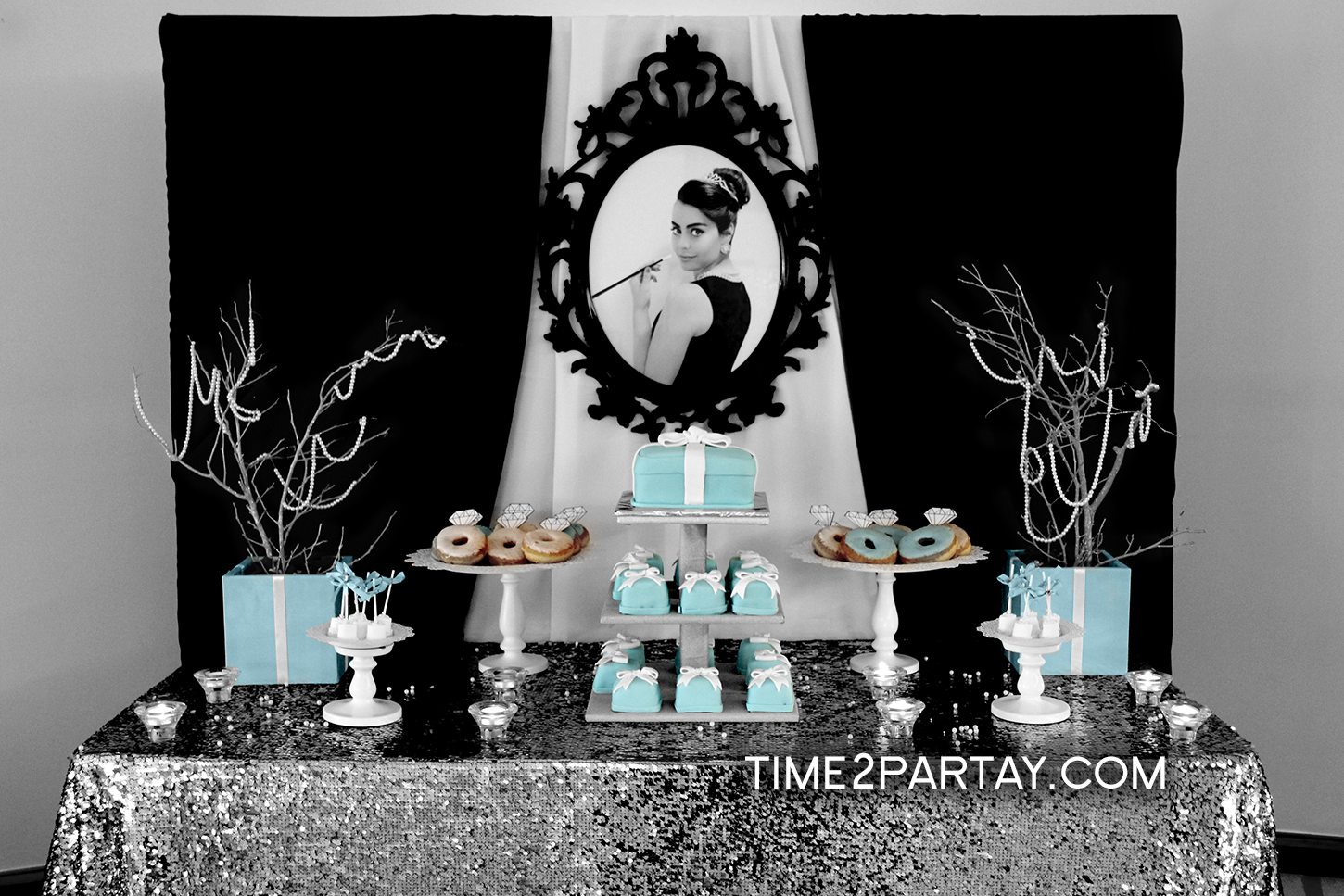 Lamiss Tiffany Co Themed Bridal Shower Time2Partaycom