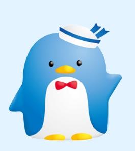 サンリオ昭和の代表キュートなペンギンキャラクター