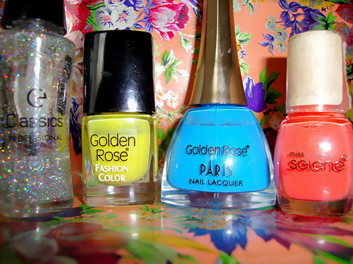 Classics, Fashion Color, flag, glitter, Golden Rose, Miss Selene, Nail Polish, Nails, Paris Nail Lacquer, Romania