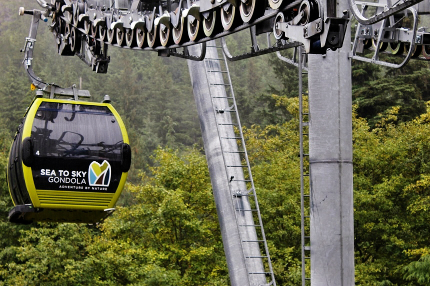Land Sea Tours- Cruise Excursion, Sea To Sky Gondola and Pilot Suspension Bridge in Squamish, B.C.