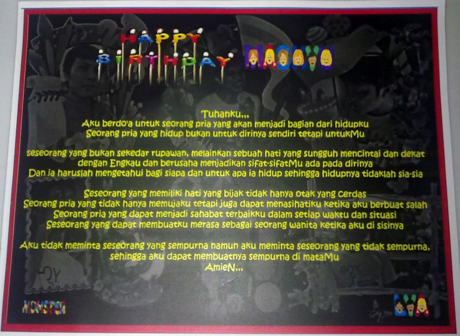 Berikut adalah kartu ucapan ulang tahun buat teman yang bisa anda ...