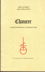 Book on Chaucer by John Leyerle